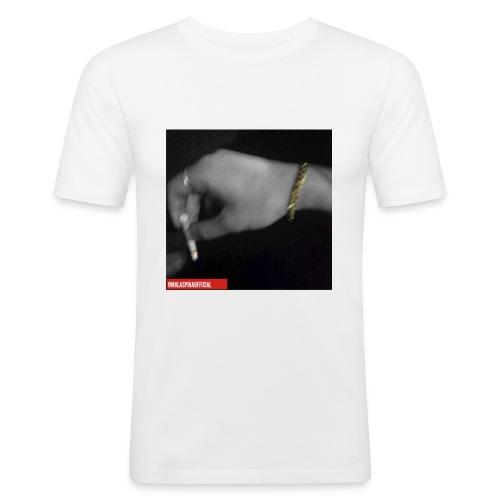 Malaspina   Classic Smoke - Maglietta aderente da uomo
