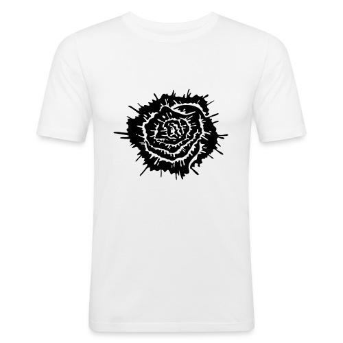 Dead Roses - Maglietta aderente da uomo