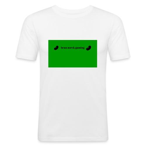 bean_norsk_gaming-jpg - Slim Fit T-skjorte for menn