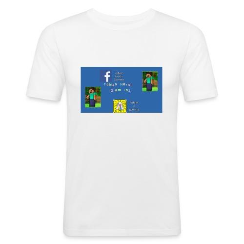 TobiasNorskGaming - Slim Fit T-skjorte for menn