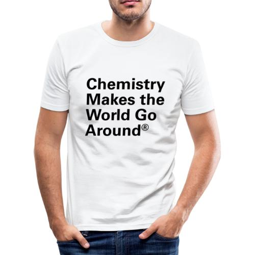 Chemistry makes the World go Around T-Shirt - Männer Slim Fit T-Shirt