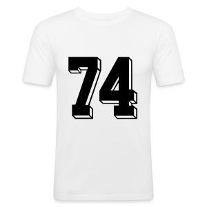 Football 74 - Men's Slim Fit T-Shirt