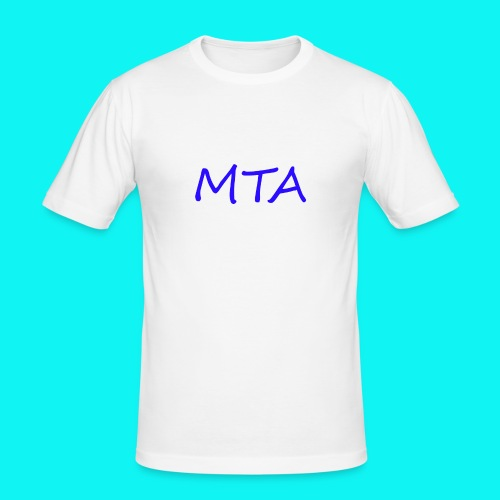 #MTA t-shirts - Herre Slim Fit T-Shirt