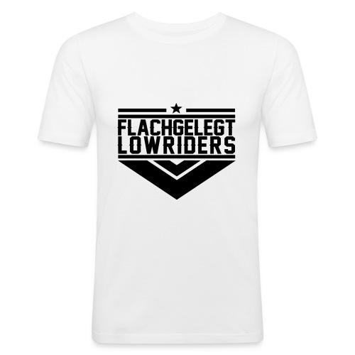 emblem brust - Männer Slim Fit T-Shirt