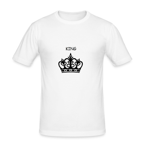 KING CROWN - T-shirt près du corps Homme