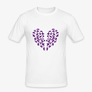 Mystic Heart - Slim Fit T-shirt herr