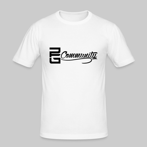 PG Community EST 2017 - Männer Slim Fit T-Shirt