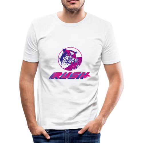 Tiger RUSH II - Männer Slim Fit T-Shirt