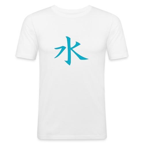 water - T-shirt près du corps Homme