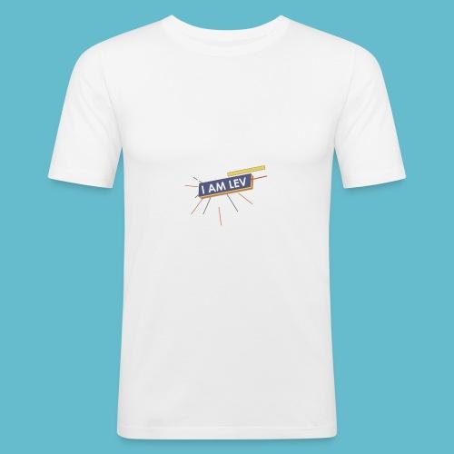 I AM LEV Banner - slim fit T-shirt
