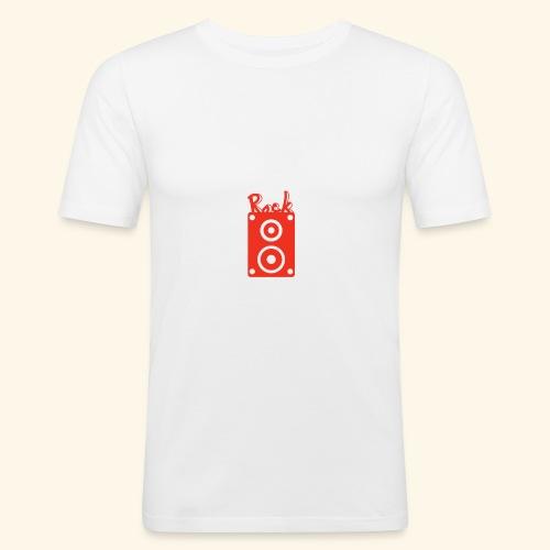 Rock Box - Männer Slim Fit T-Shirt