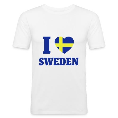 LoveSweden - Slim Fit T-shirt herr