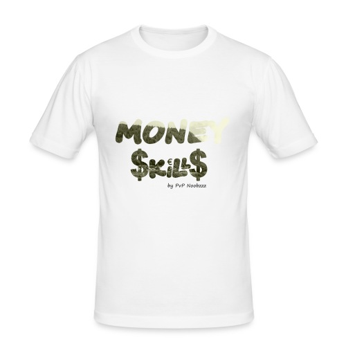 Money Skills - Slim Fit T-skjorte for menn