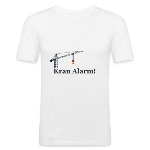 Kran Alarm - Herre Slim Fit T-Shirt