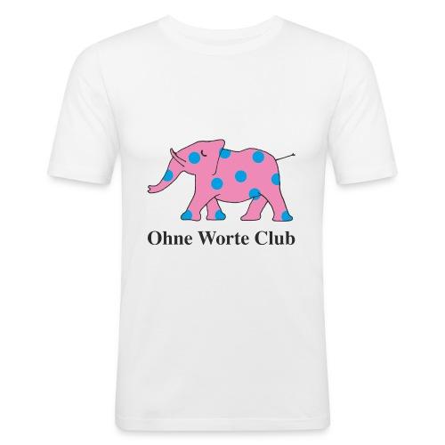 OWC Elefant 1976 - Männer Slim Fit T-Shirt