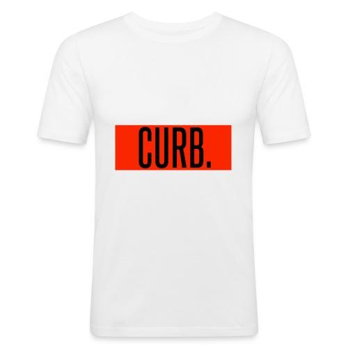 CURB red - Männer Slim Fit T-Shirt