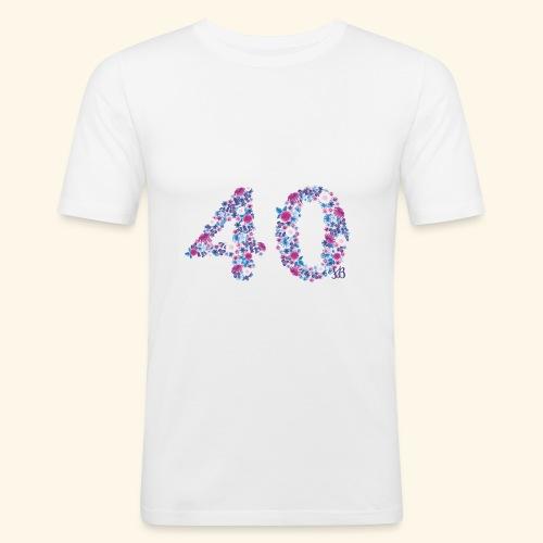 pinks - Männer Slim Fit T-Shirt