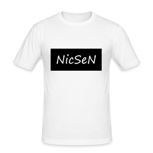 NicSeN Special - Slim Fit T-skjorte for menn