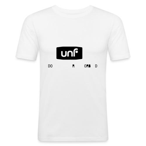 UNF_svartvit-eps - Slim Fit T-shirt herr