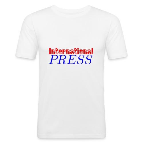 int_press-png - Maglietta aderente da uomo