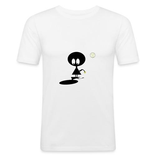 Blackmoon - Solitary - Men's Slim Fit T-Shirt