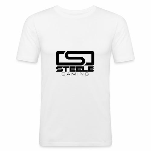 Black logo rugged - Slim Fit T-shirt herr