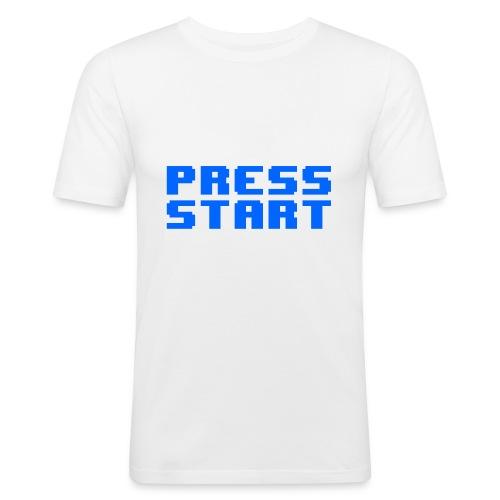 Press Start - Maglietta aderente da uomo