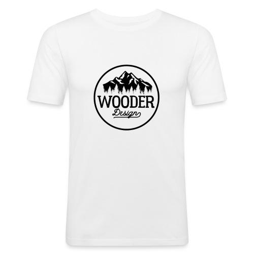Wooder Design - Männer Slim Fit T-Shirt