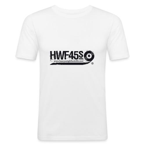 HWF45S Retro Logo Black - Men's Slim Fit T-Shirt