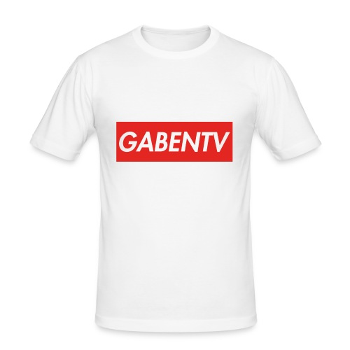 GabenTV Red - Herre Slim Fit T-Shirt