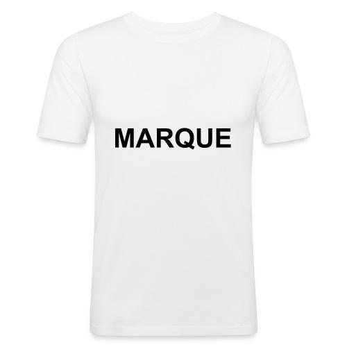 MARQUE - T-shirt près du corps Homme