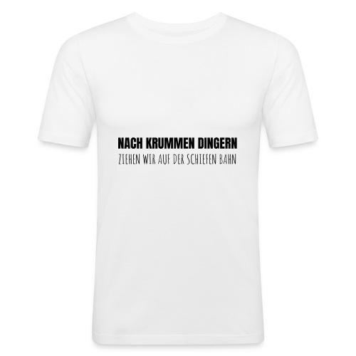 KRUMMEDINGER - Männer Slim Fit T-Shirt