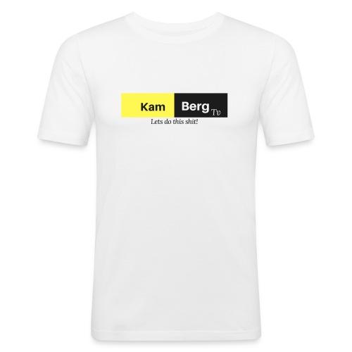 Der erste Kamberg TV Merch - Männer Slim Fit T-Shirt