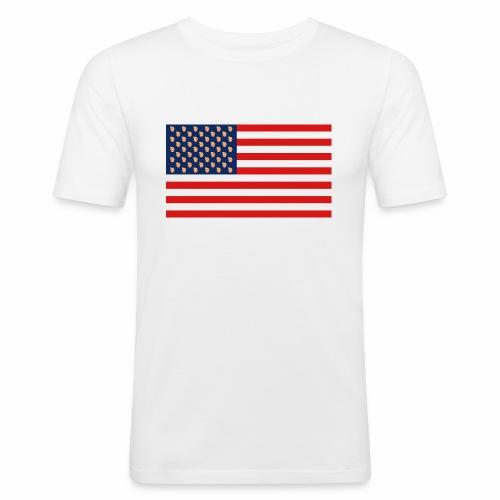 Drumb Flagge - Männer Slim Fit T-Shirt