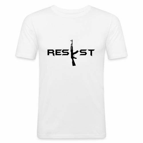 resist - T-shirt près du corps Homme