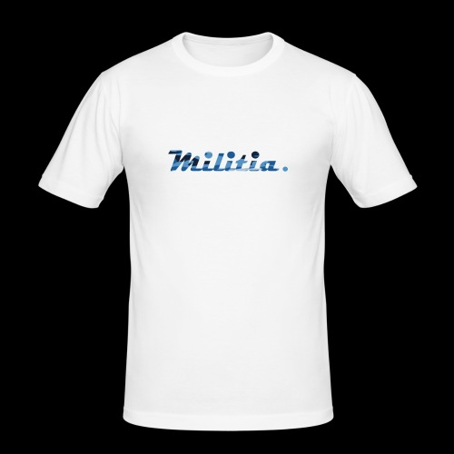 blue militia - Men's Slim Fit T-Shirt