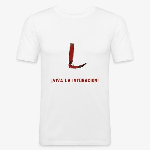 Viva la intubación! - Männer Slim Fit T-Shirt