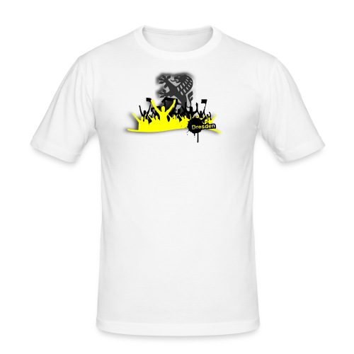 fan shirt - Männer Slim Fit T-Shirt