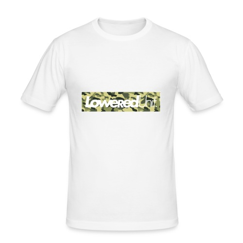 Loweredunit. Camouflage - Männer Slim Fit T-Shirt
