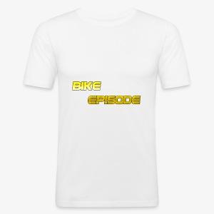 Cool Text Bike Episode 279969397204592 - Männer Slim Fit T-Shirt