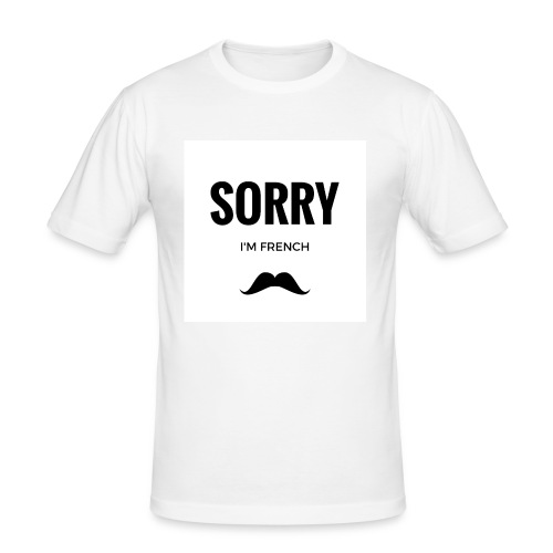 SORRY, i am french - T-shirt près du corps Homme