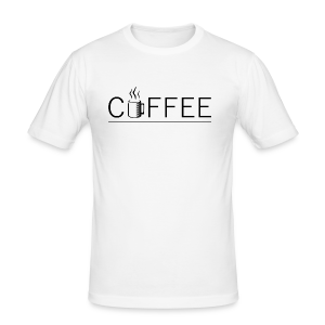 Coffee - Tee shirt près du corps Homme