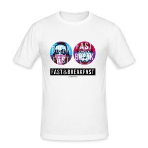 Fast And Breakfast - Tee shirt près du corps Homme