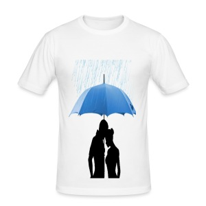 Love under the umbrella - slim fit T-shirt