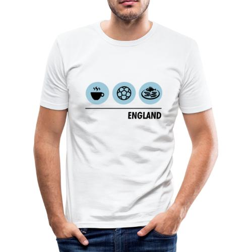 Circles - England - Men's Slim Fit T-Shirt