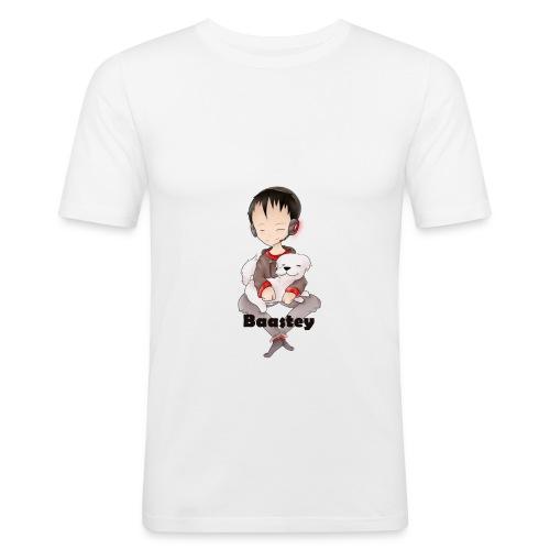 Baastey + Coco Design - Männer Slim Fit T-Shirt