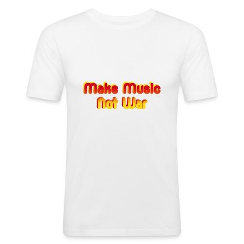 Make Music not War - Men's Slim Fit T-Shirt