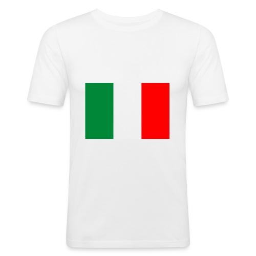 bandieraITA - Maglietta aderente da uomo
