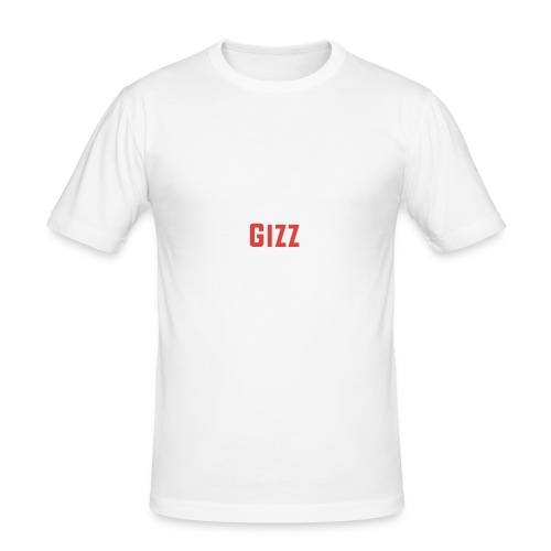 Gizz rood - slim fit T-shirt