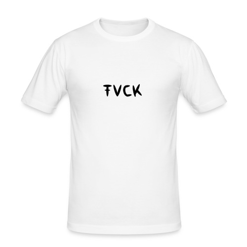 FVCK FASHION COLLECTION - Männer Slim Fit T-Shirt